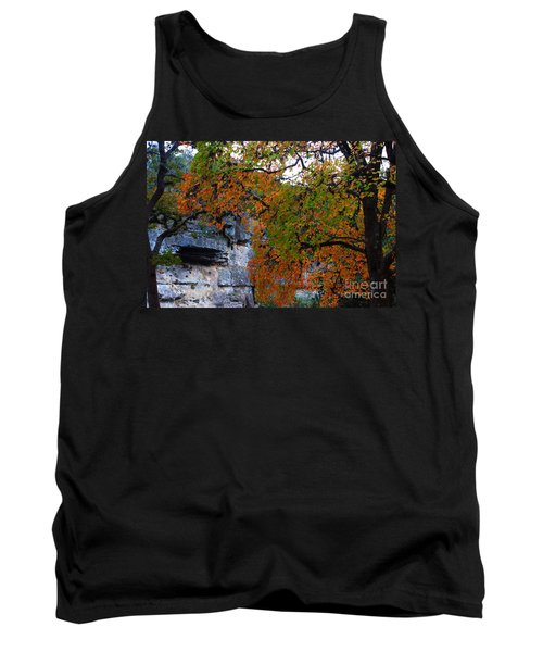 Fall Foliage At Lost Maples State Natural Area  Tank Top