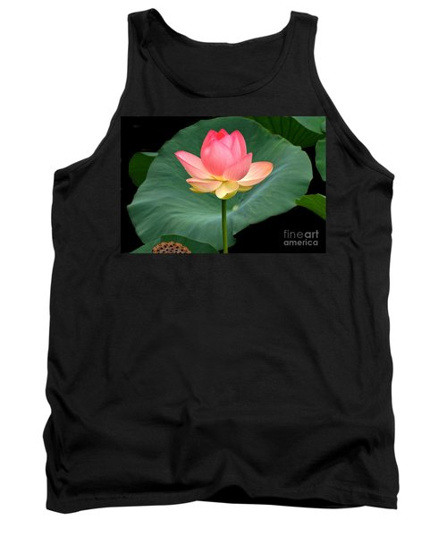 Lotus Of Late August Tank Top
