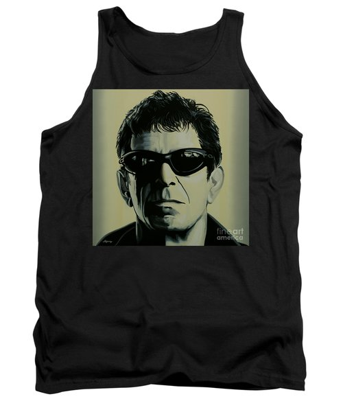 Lou Reed Painting Tank Top