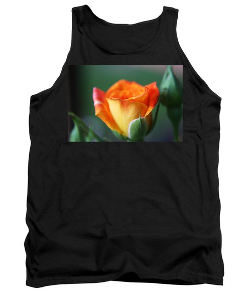 Tank Top featuring the photograph Louisiana Orange Rose by Ester  Rogers