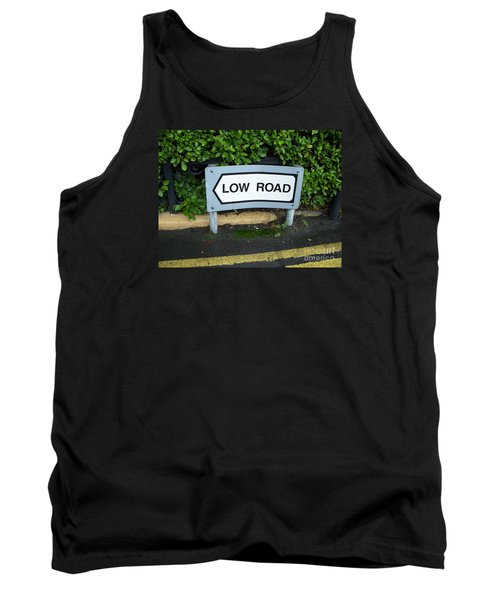 Tank Top featuring the photograph Low Road by Marilyn Zalatan