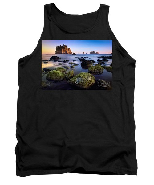Low Tide At Second Beach Tank Top