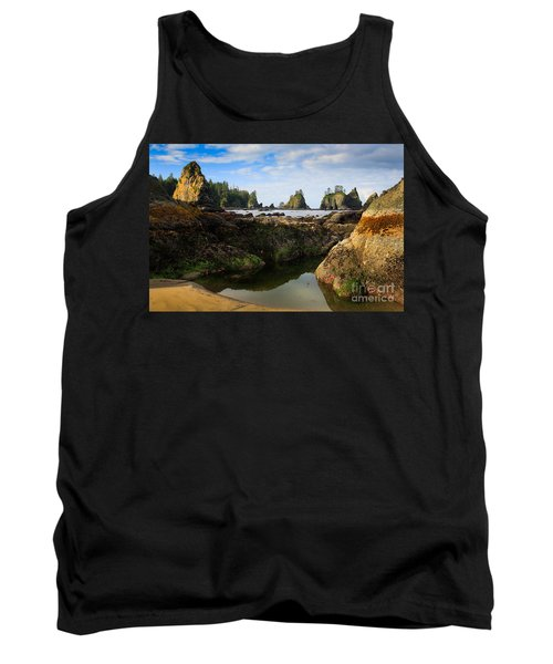Low Tide At The Arches Tank Top