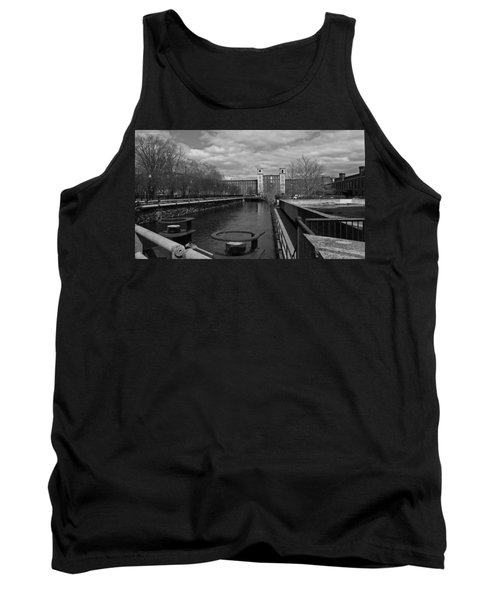 Lowell Ma Architecture Bw Tank Top