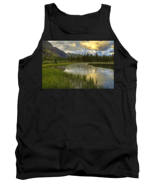 Lower Ice Lake Tank Top by Alan Vance Ley