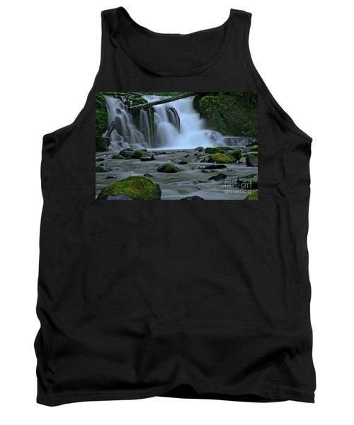 Lower Mcdowell Creek Falls Tank Top by Nick  Boren