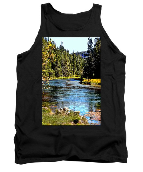 Lower Truckee River Tank Top