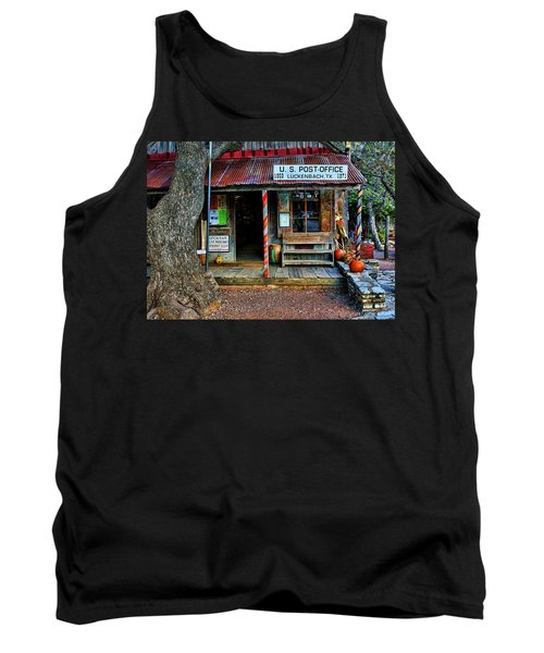 Luckenbach Texas Tank Top by Judy Vincent
