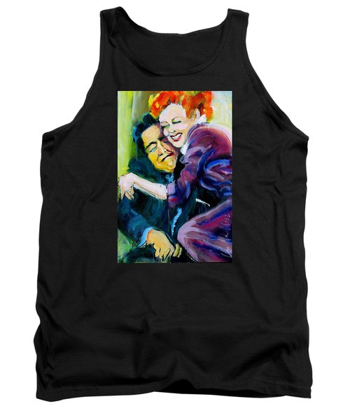 Lucy And Ricky Tank Top by Les Leffingwell