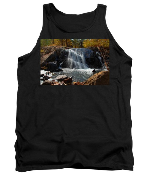Tank Top featuring the photograph Lundy Creek Cascades by Lynn Bauer
