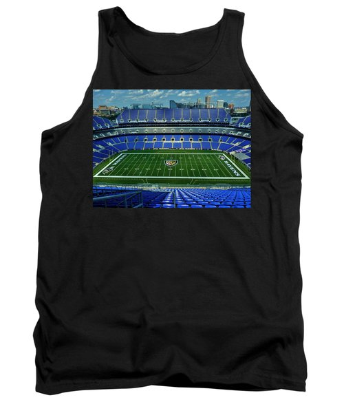 M And T Bank Stadium Tank Top by Robert Geary