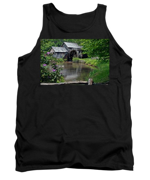 Tank Top featuring the photograph Mabry Mill In May by John Haldane