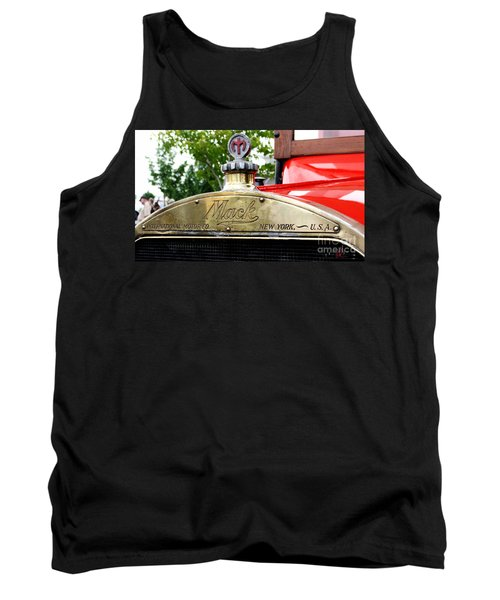 Mack Truck Grill Tank Top by Chris Thomas