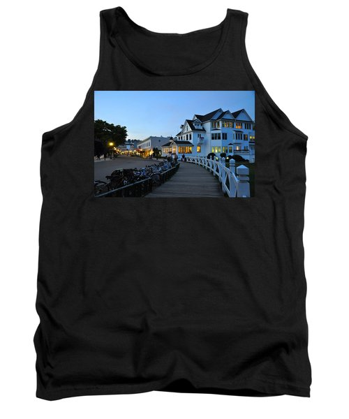 Mackinac Island At Dusk Tank Top