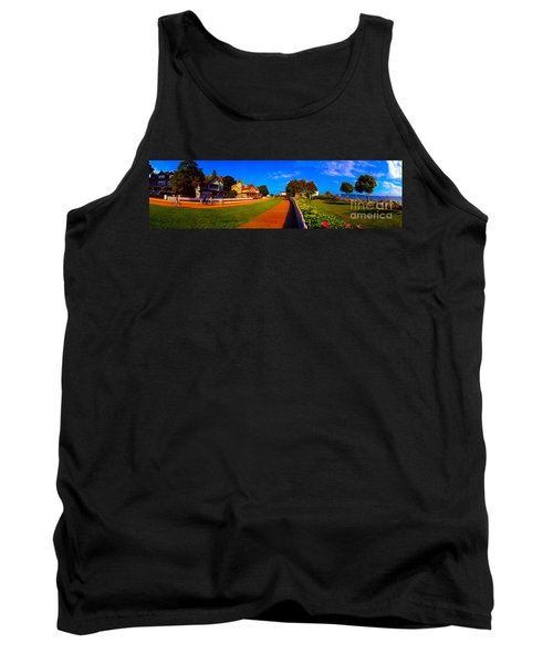 Mackinac Island Flower Garden  Tank Top