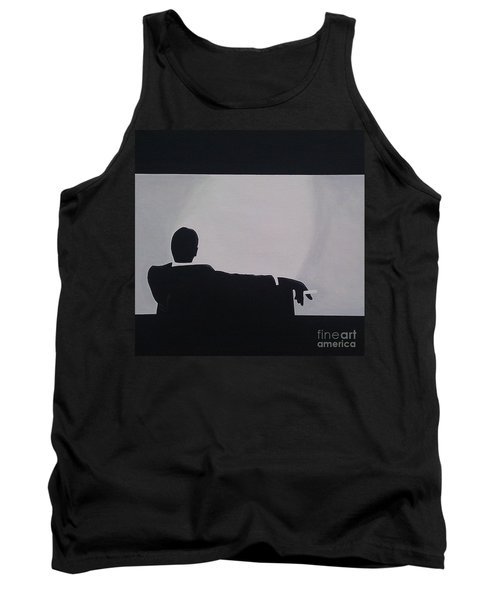 Mad Men In Silhouette Tank Top