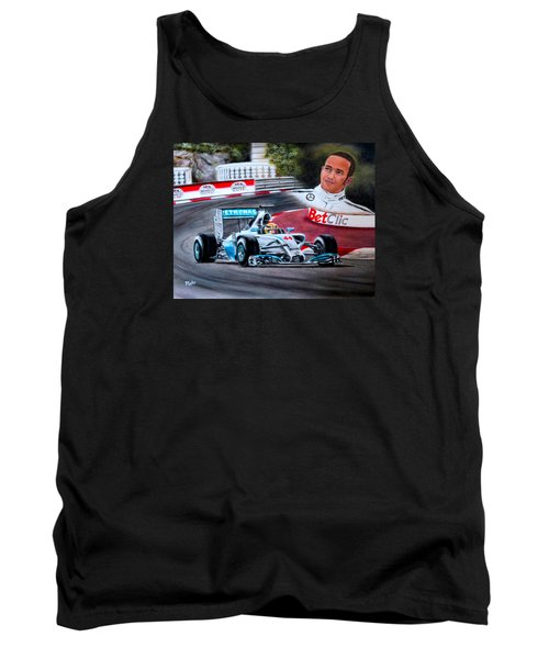 Magic Of Monaco-lewis Hamilton Tank Top