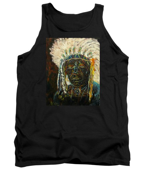 Magic Powers,  Native American Indian Chief Tank Top