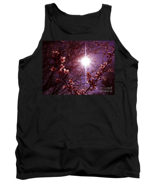 Magical Blossoms Tank Top by Vicki Spindler
