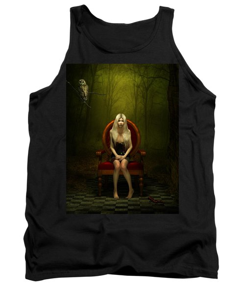 Magical Red Chair Tank Top