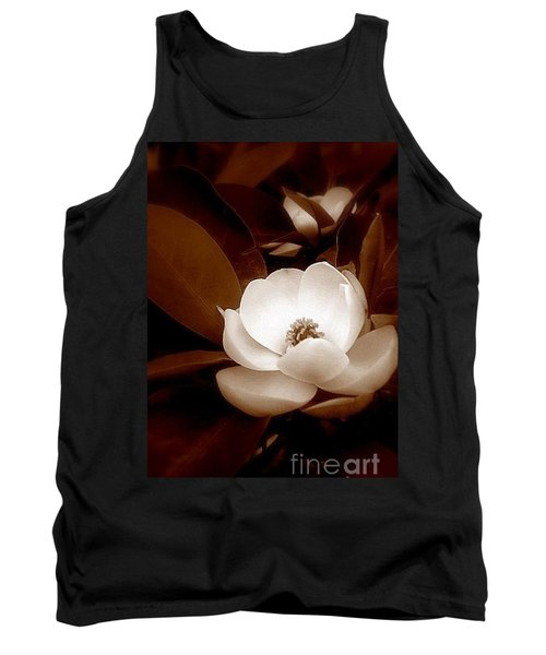 New Orleans Magnolia Beauty Tank Top by Michael Hoard