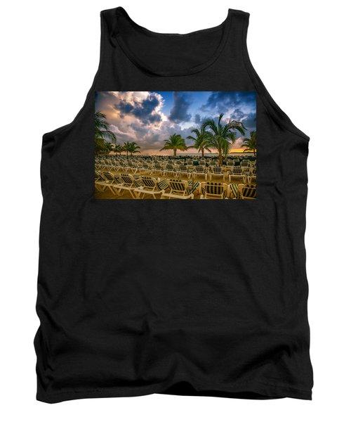 Mahogany Bay Beach-roatan-honduras Tank Top