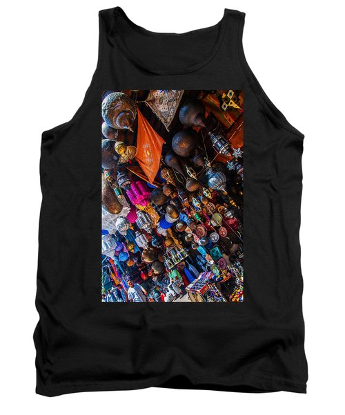 Marrakech Lanterns Tank Top
