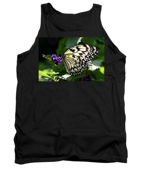 Tank Top featuring the photograph Malabar Tree Nymph  by Suzanne Stout