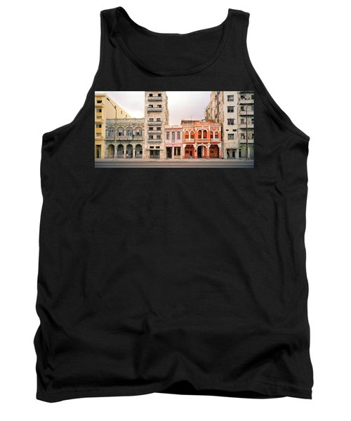 Malecon In Havana Tank Top by Shaun Higson