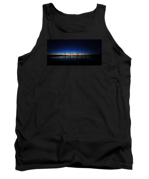 Manasquan Reservoir At Dawn Tank Top