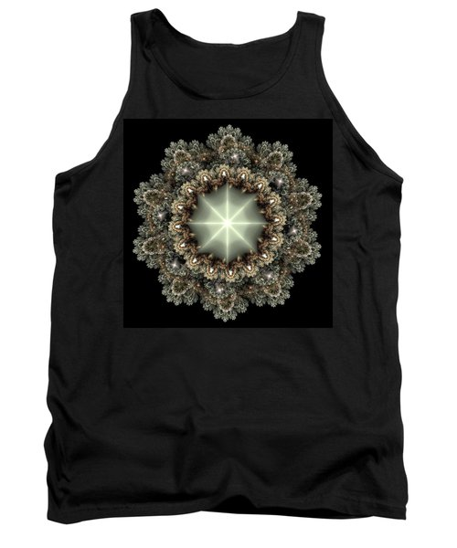 Tank Top featuring the digital art Mandala by Svetlana Nikolova