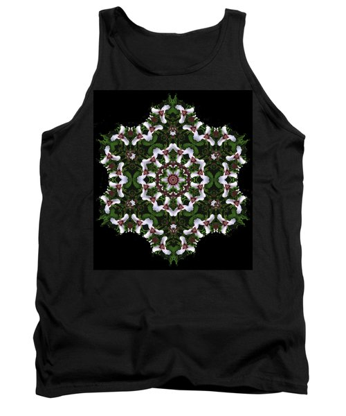 Mandala Trillium Holiday Tank Top