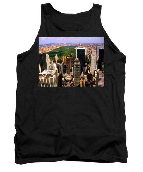 Manhattan And Central Park Tank Top