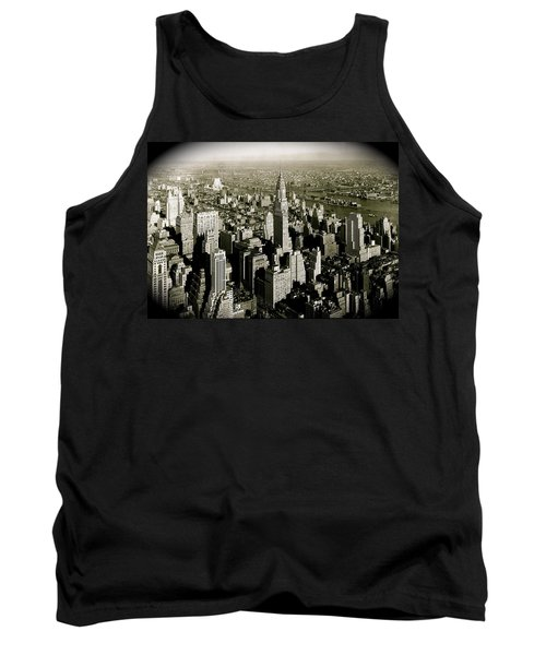 Manhattan And Chrysler Building II Tank Top
