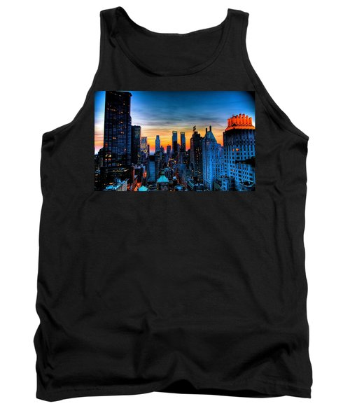 Manhattan At Sunset Tank Top