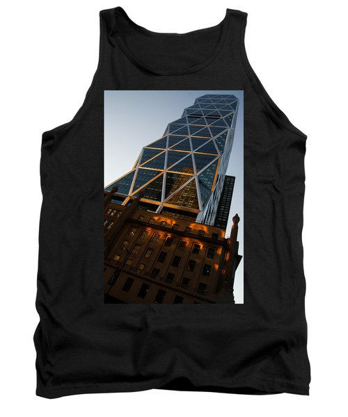 Manhattan Blues And Oranges Tank Top