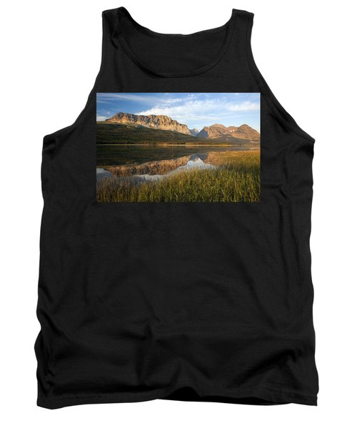 Tank Top featuring the photograph Many Glacier Reflections by Jack Bell