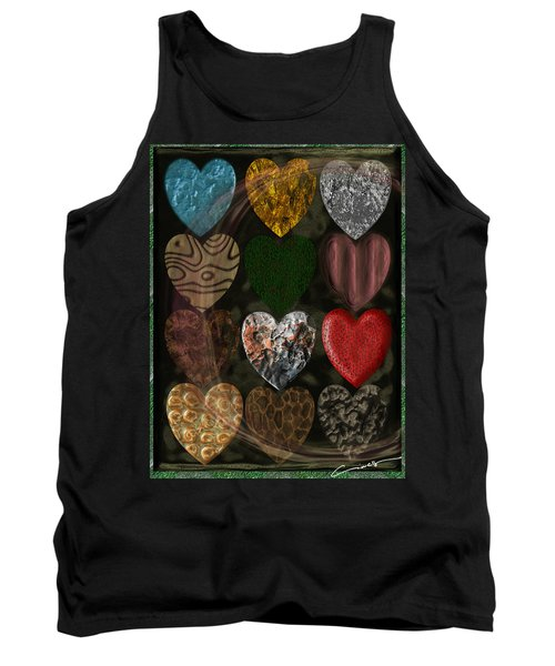 Many Types Of Love Tank Top