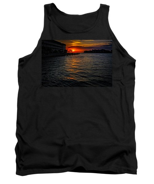 Tank Top featuring the photograph Marco Island Sunset 43 by Mark Myhaver