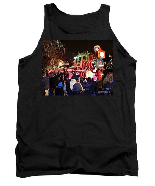 New Orleans Mardi Gras 2014 Orpheus Super Float Smokey Mary Tank Top