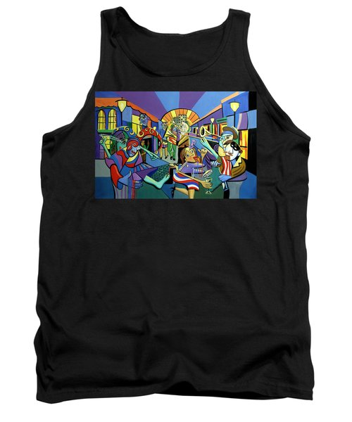 Mardi Gras Lets Get The Party Started Tank Top