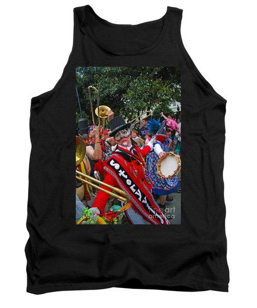 Mardi Gras Storyville Marching Group Tank Top by Luana K Perez