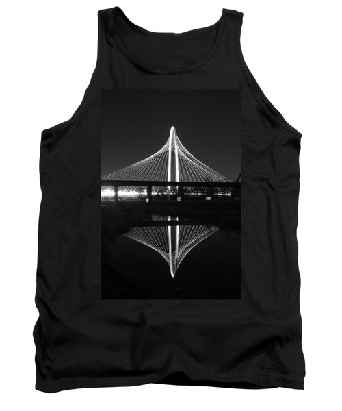 Margaret Hunt Hill Bridge Reflection Tank Top
