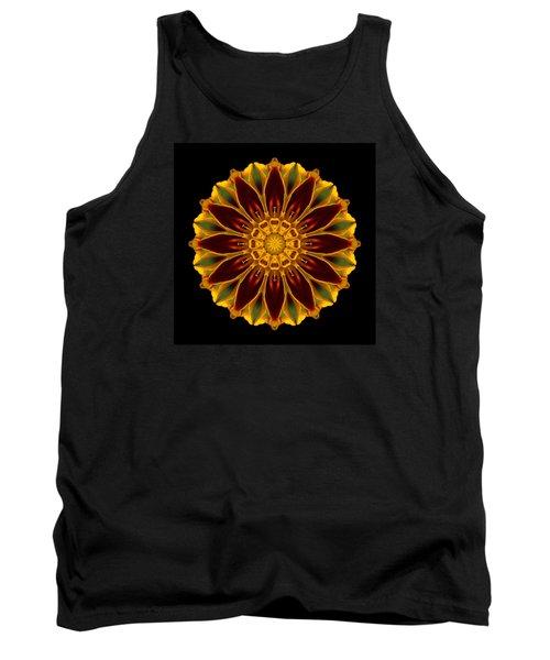Marigold Flower Mandala Tank Top