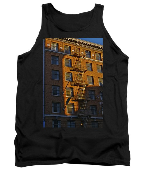 Market Street Area Building 4 Tank Top