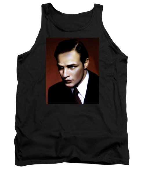 Marlon Brando Tribute Tank Top