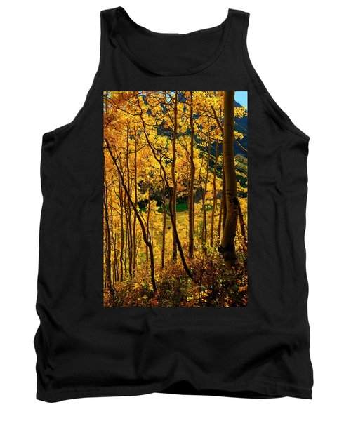 Maroon Lake Gold Tank Top