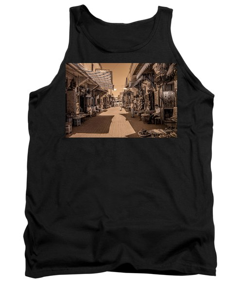 Marrackech Souk At Noon Tank Top