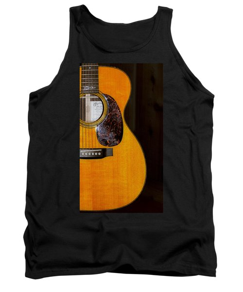 Martin Guitar  Tank Top by Bill Cannon