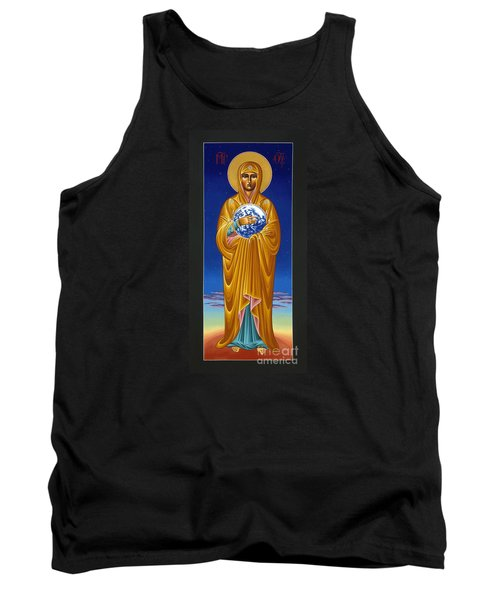 Mary Most Holy Mother Of All Nations 080 Tank Top by William Hart McNichols